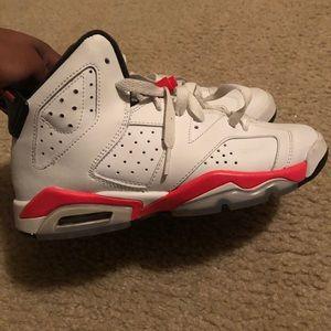 Jordan 6 white infrareds'!